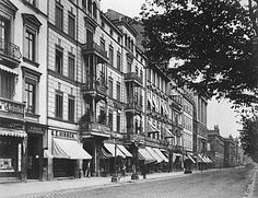 Unter den Linden 45-39, Foto F. A. Schwartz, um 1885