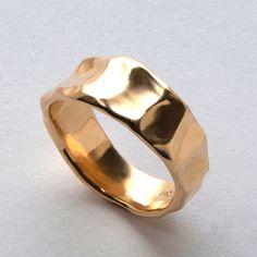 Butter No.1 - 14k Gold Ring , Unisex Ring , Wedding Ring , Wedding Band