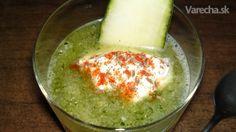 Studená uhorková polievka (fotorecept)