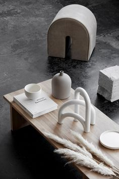 AW19 Collection by Danish Designer Kristina Dam - Hege in France Nordic design and modern sculptures. Scandinavian interior design. #homedecor #concrete #minimaldesign #ceramics #coffeetable #styling #nordicminimalim #minimalism #kristinadam #danishdesign