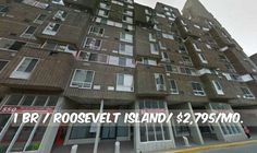 1 BR apt for rent in Roosevelt Island at $2,795/mo.Elevator,Laundry. Contact us for details.Web ID:134324. #NYCApartments #MovingToNYC #NYCrentals #ApartmentHunting #Moving #NYC #NoFeeApt