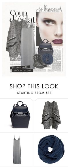 """""""Scarf"""" by len-chica ❤ liked on Polyvore featuring Alexander Wang, Equipment, John Lewis, Giuseppe Zanotti and Bela"""