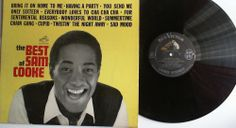 The Best Of Sam Cooke (R&B Soul Lp)   RCA Victor  - 1961