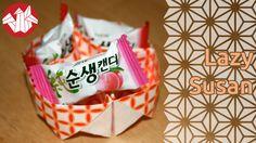 Origami - Plateau à Compartiments: Lazy Susan [Senbazuru]
