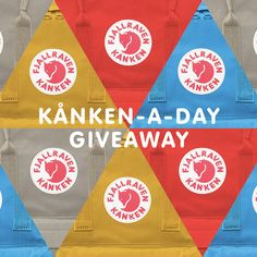 IT'S OFFICIAL! We're giving away a KÅNKEN-A-DAY everyday during the month of August! You can sign up once per day, so come back daily for your chance to win. Enter here!