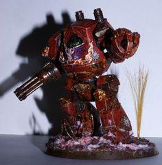 Blood Angels Relic Contemptor Dreadnought