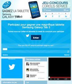 Twitter Contest - Coriolis Telecom #Socialshaker