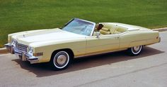 1973 Cadillac Eldorado Convertible Maintenance/restoration of old/vintage vehicles: the material for new cogs/casters/gears/pads could be cast polyamide which I (Cast polyamide) can produce. My contact: tatjana.alic@windowslive.com