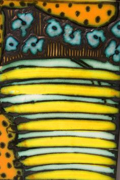 Yellow Tile by George Pearlman | GeorgePearlman.com