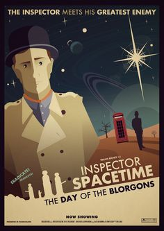 Jonny Eveson Posters Store — Inspector Spacetime: The Day Of The Blorgons