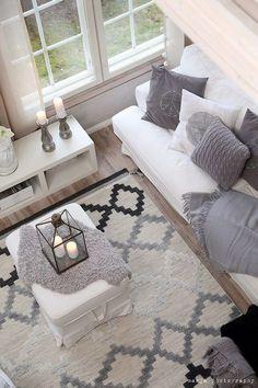 Living Spaces - Kodin1, Elämäni koti, Vierasblogi Vaaleanpunainen hirsitalo, Divaani-blogit, Tunnelmointia Kodin Ykkösen tapaan #elamanikoti