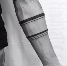 Arm band tattoo with musculature & veins #maoritattoosband