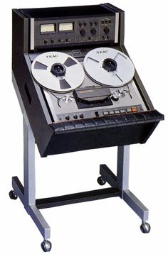 "TEAC A-6700DX 1/4"" 2 track mastering recorder from 1978."
