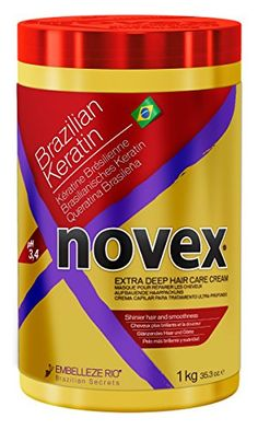 awesome Novex Hair Care Brazilian Keratin Deep Conditioning Mask, 35 oz