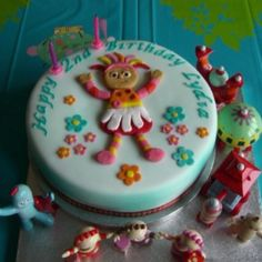 In the Night Garden Upsy Daisy birthday cake