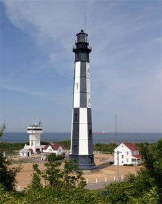 When we moved to Va Beach in 1984, it was the longest time before I realized that there were TWO lighthouses on the base at Ft. Story -- Old and New Cape Henry.  Fortunately, we were able to tour Prior To 911 when the base was closed to visitors.