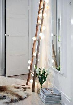 Echelle de décoration - idée déco chambre adulte