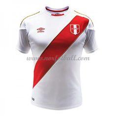 Billige Peru Drakt VM 2018 Kortermet Hjemme Fotballdrakter