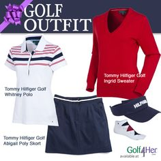Tommy Hilfiger Golf for women at http://Golf4Her.com