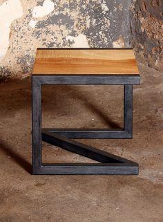 Car Furniture, Wooden Pallet Furniture, Iron Furniture, Steel Furniture, Wooden Pallets, Industrial Design Furniture, Furniture Design, Wood And Metal, Metal Art