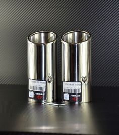 AUDI A3 A4 A5 CHROME EXHAUST TAILPIPE TRIM TIP STAINLESS STEEL X 2   eBay