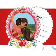 Diseny Elena Of Avalor Birthday Paty Supplies Choose Required Item 3rd Birthday Parties, Birthday Cake, Invitation Envelopes, Invitations, Kids Party Themes, Party Ideas, Princesas Disney, Shapes, Harry Potter