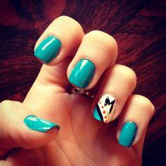 Miami marlins nails