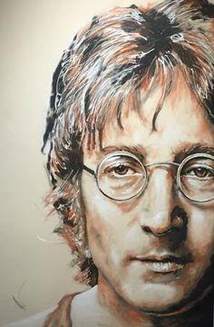 John Lennon by ibLisaLynn Beatles Poster, Les Beatles, Beatles Art, John Lenon, Peace Sign Art, Imagine John Lennon, Buddy Holly, The Fab Four, Rock Posters