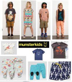 Munster Kids- cool kids clothing, Australian label. roadofthecurious.com