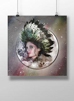 Fantasy Art Creation  by Caroline Azariah, via Behance