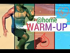 Warm Up! The Perfect Way to Prepare Your Body for Exercising. Cardio At Home, Workout For Beginners, Hiit, How To Stay Healthy, Workouts, Exercise, Warm, Baseball Cards, Youtube