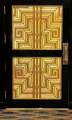 Art Deco Door Designs | beautiful art deco door