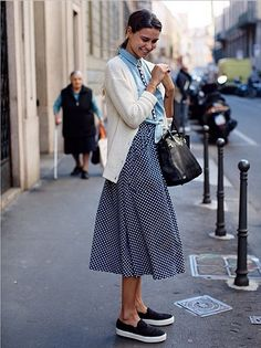 Street style from The Sartorialist