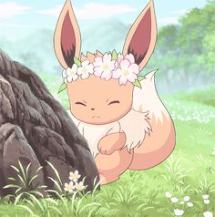 If you're ever having a bad day, just remember how adorable eevee is 😍 Do you have a favorite eeveelution? Gif Pokemon, Pokemon Eeveelutions, Eevee Evolutions, Eevee Wallpaper, Cute Pokemon Wallpaper, Eevee Cute, Cute Pikachu, Pokemon Mignon, Cute Pokemon Pictures