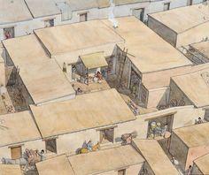 Gaul - Lattara (Lattes) - The courtyard house