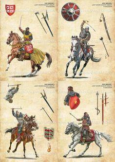 Guerreros Medievales.