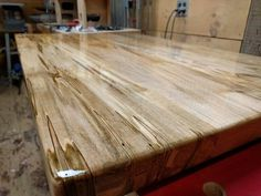 spalted maple kitchen island top - Maple Kitchen Table