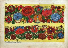 Hungarian Embroidery traditonal hungarian patterns - matyó from mezőkövesd Hungarian Embroidery, Folk Embroidery, Learn Embroidery, Butterfly Embroidery, Floral Embroidery, Chain Stitch Embroidery, Embroidery Stitches, Embroidery Patterns, Stitch Head