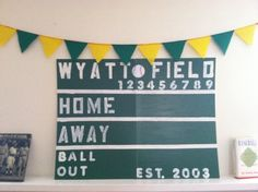 Sports fan party! Birthday Party Ideas | Photo 1 of 22 | Catch My Party