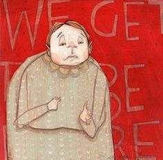 Rebecca Green Illustration - Work - We get to be here