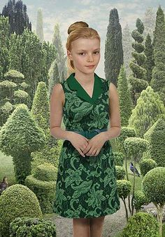 """""""Sunday"""", by Ruud van Empel, 2012. I just saw this show at the MOPA in San Diego. His method of constructing images is really quite extraordinary."""