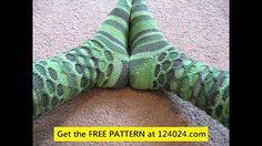 loom knitting stitches - YouTube