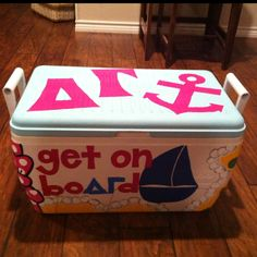 What a cute way to spoil your little/big! If you're looking for a DG DIY, this cooler is amazing!