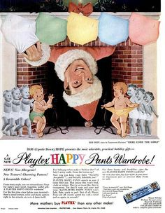 Bad vintage Christmas ads: 20 retro holiday sales pitches that you'd never see today - Click Americana Vintage Humor, Vintage Ads, Vintage Posters, Retro Christmas, Christmas Holidays, Xmas, Christmas Stocking, Retro Ads, Vintage Advertisements
