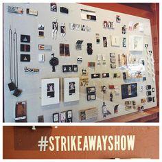 AMAZING job @ccerruti and @adorndesign #strikeawayshow looks fantastic #tw