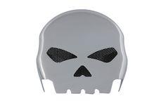 Chrome Skull Horn Cover