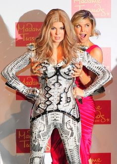 Fergie from Celeb Wax Figures Fergie Ferguson, Stacy Ferguson, Black Eyed Peas, Celebrity Singers, Celebrity Style, Famous Celebrities, Celebs, British Royal Family Members, Wax Statue