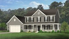 Home Plan HOMEPW77519 - 2148 Square Foot, 4 Bedroom 2 Bathroom + Farmhouse Home with 2 Garage Bays | Homeplans.com