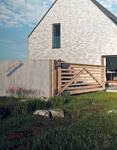 Cottage House on Behance