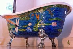 Water Lily Tub... Perfect!